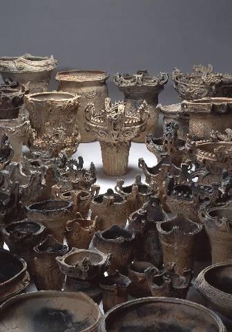 国宝火焔型土器