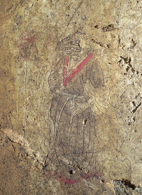 キトラ古墳壁画「トラ」